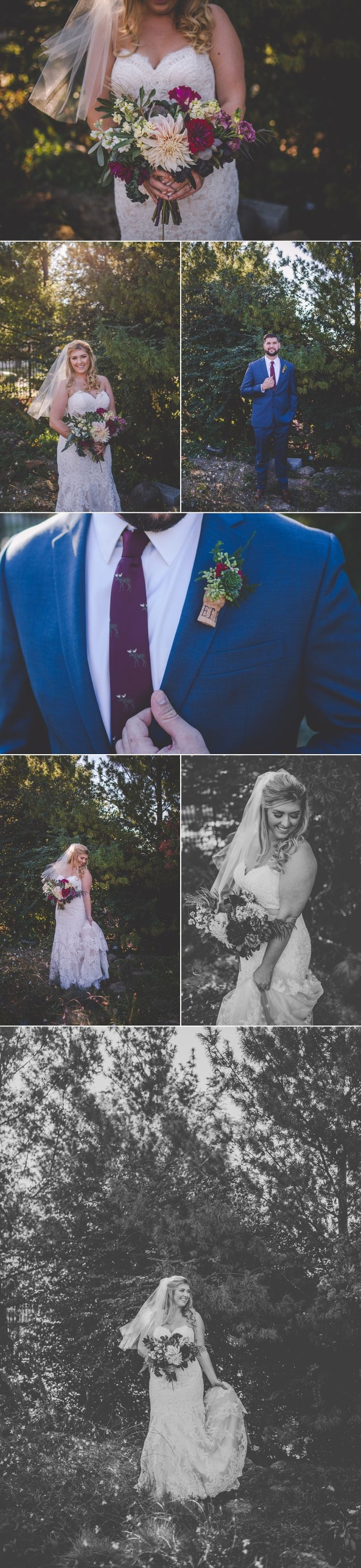 Absolutely adored Kait & Chris' Wedding downtown Madison, Wisconsin. Fall details and beautiful weather all came together for an adorable couple.