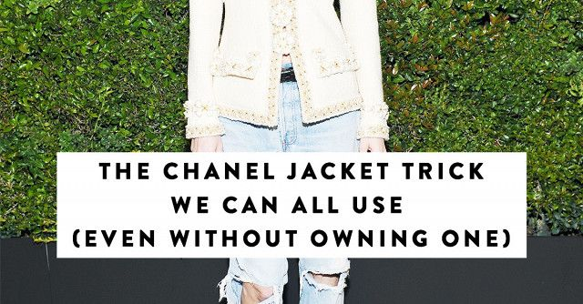 Poppy Delevingne's way of styling the classic Chanel bouclé jacket proves exactly how British girls always wear this French staple.