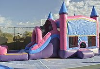 www.BounceandRebound.com (623-396-JUMP) Extreme Princess Combo Bounce House, Water Slide, Inflatable Jumper Rentals |n Phoenix, AZ