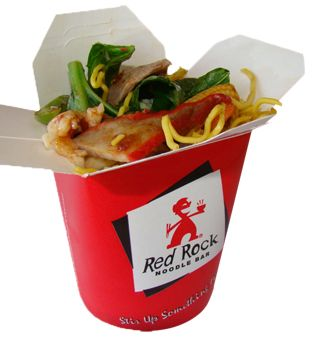 Red Rock Noodle Bar Brisbane - Sweet Chilli Garlic - Thin egg noodles with chicken breast, lean beef, roast pork & fresh vegetables in our blended sweet chili garlic sauce