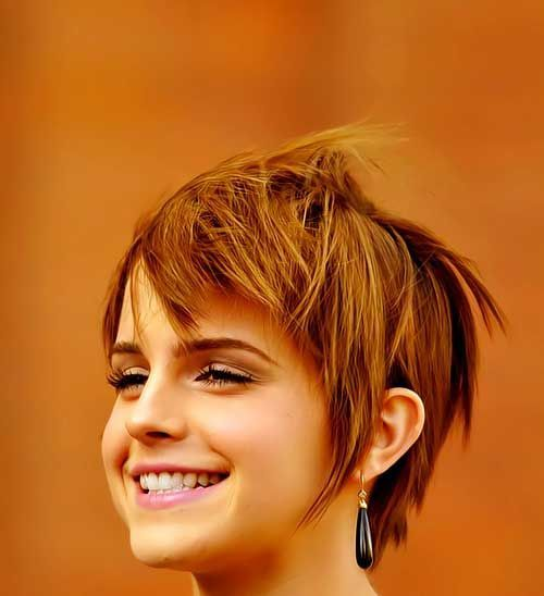 Short Hairstyles For Round Faces Young : 15 best images about hairstyles round faces on pinterest