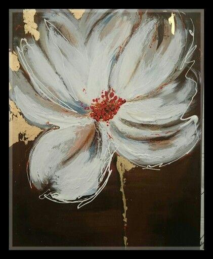 #art #painting #acrylic #flower #акрил #поталь #искусство #рисование #картина #художник #цветы