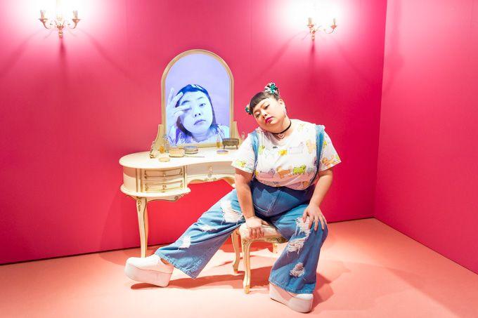 「渡辺直美展 Naomi's Party」ラフォーレ原宿で開催 - 私服やメイク映像、好物グルメなど   ニュース - ファッションプレス