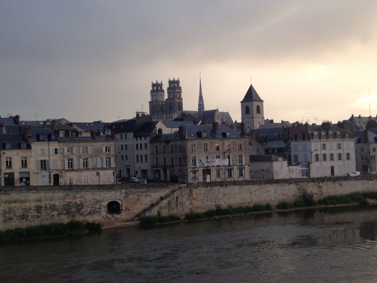 I have seen from the opposite bank of the river to the Old Town Orleans.
