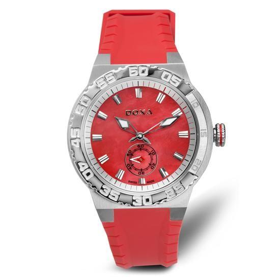 Zegarek DOXA, 1240 PLN www.YES.pl/53880-zegarek-doxa-TC33819-S0S00-KUC000-000 #jewellery #Watches #BizuteriaYES #watch #silver #elegant #classy #style #buy #Poland