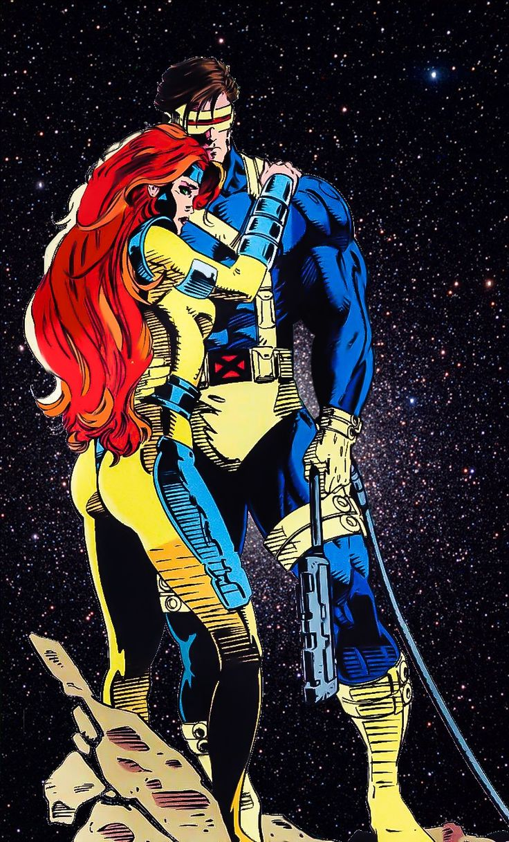 the-phoenix-saga:  Jean Grey and Scott Summers: power couple of the Marvel Universe