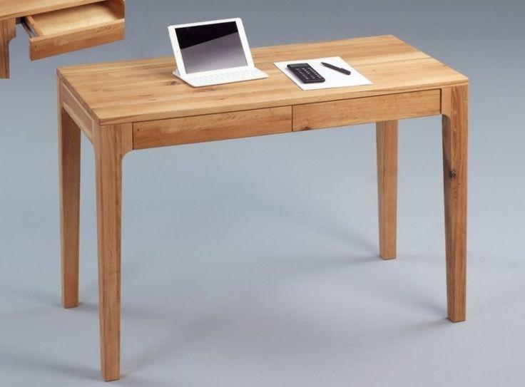 Toller Schreibtisch in Wildeiche massiv geölt.  Durch das schlanke Design wirkt der Tisch überall sehr elegant, nicht nur im Büro sondern auch im Wohn- oder Schlafzimmer.  Und auch dem Einsatz als Schminktisch steht nichts im Wege.  Ein echter Allrounder! #schreibtisch #Tisch #Wildeiche #schubladen #Konsole #computertich #schminktisch #echtholz #wildeiche #massiv #moebel #möbel #moebeltraeume #moebelpower