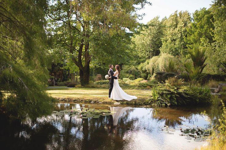 Bride and Groom at Ayrlies Garden http://www.ivelinavelkova.com/