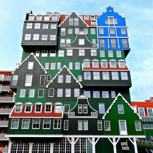 Inntel Hotels Amsterdam Zaandam, The Netherlands;  by Ken Lee, via Flickr
