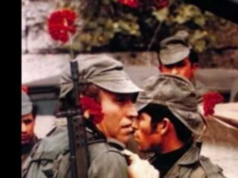 25 de Abril de 1974 - A revolução dos cravos