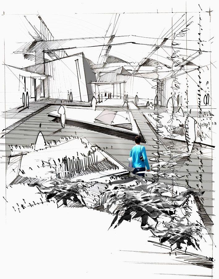 Les 73 meilleures images du tableau graphism sur pinterest for Architecture du paysage