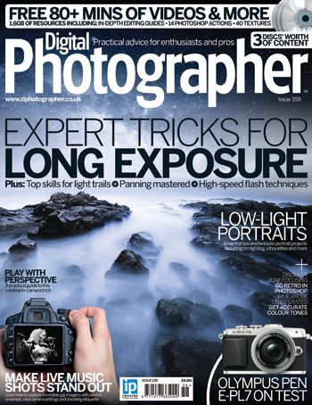 Digital Photographer is the kitbag essential for enthusiasts and pro photographers looking to refine their skills and bolster their portfolio, created by working photographic professionals. Learn to capture motion, from long-exposure seascapes to high-speed flash droplets. This issue we also take a look at shooting portraits in low light, as well as discovering the art of shooting gig photography, plus lots more.