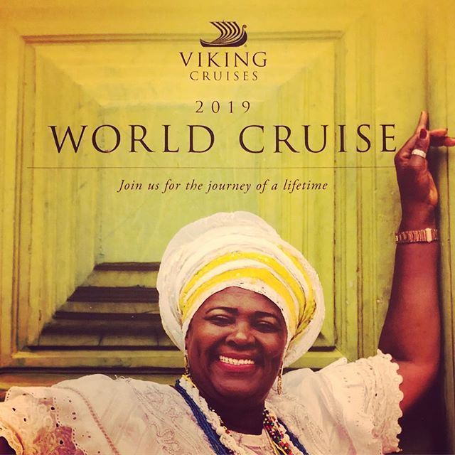 The #vikingcruises2019 #worldcruise on #vikingsun is highly recommended from 3 January-11 May 2019. The Owners Suite is available for $199995 providing you are quick. Sailing begins in Miami and ends in London England. I am happy to help you with your bookings.