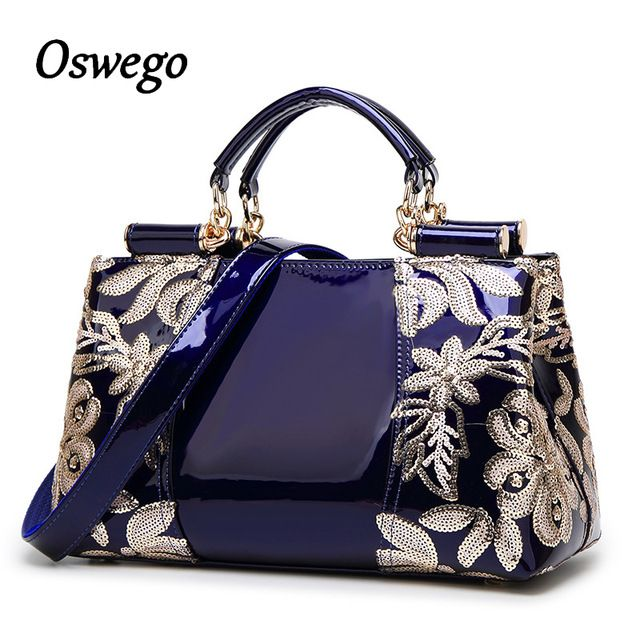 Discount Today $34.62, Buy Luxury Design Fashioh Brand Women Bag Sequined Embroidery Genuine Leather Ha… | Genuine leather handbag, Leather handbags, Sequin handbag