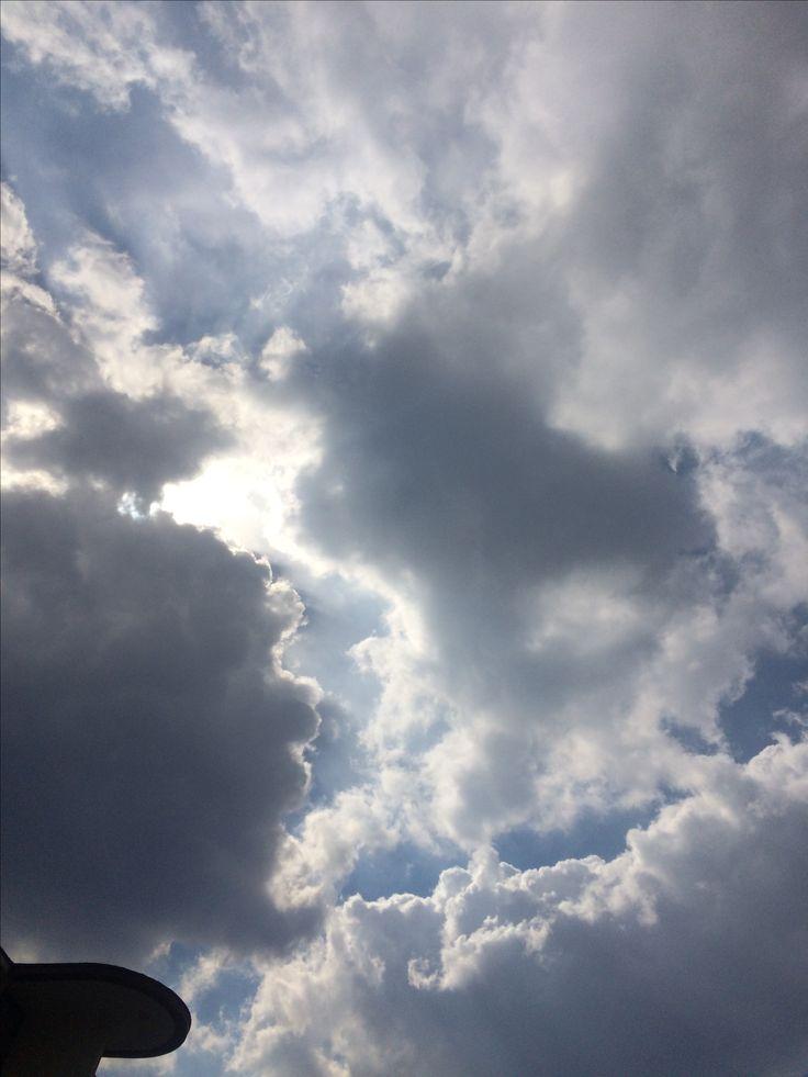 2017년 4월 1일의 하늘 #sky #cloud #sun