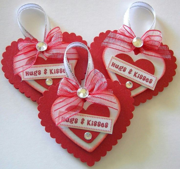 Card Making Embellishment Ideas Part - 35: Embellishments. Valentine HeartsValentine IdeasValentines DayCard ...