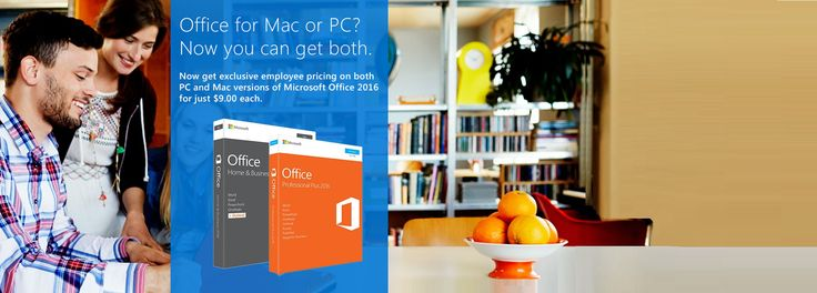 MS Office 2016 for Mac OS & PC, Visio Pro & Project Pro - $15 Each via Microsoft HUP - http://sleekdeals.co.nz/deals/2016/11/ms-office-2016-for-mac-os-amp-pc,-visio-pro-amp-project-pro-$15-each-via-microsoft-hup.aspx?nf=true&m=