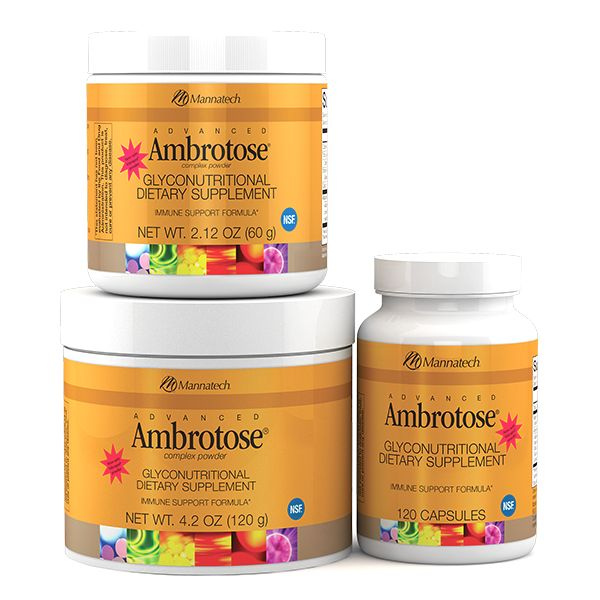 Advanced Ambrotose® | Mannatech