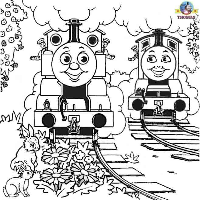 Free Coloring Pages For Boys Worksheets Thomas The Train Pictures | Train Thomas the tank engine Friends free online games and toys for kids