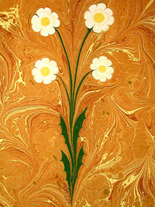ebru paper | Turkish Marbled Paper Art - Ebru Sanati - History Forum ~ All Empires