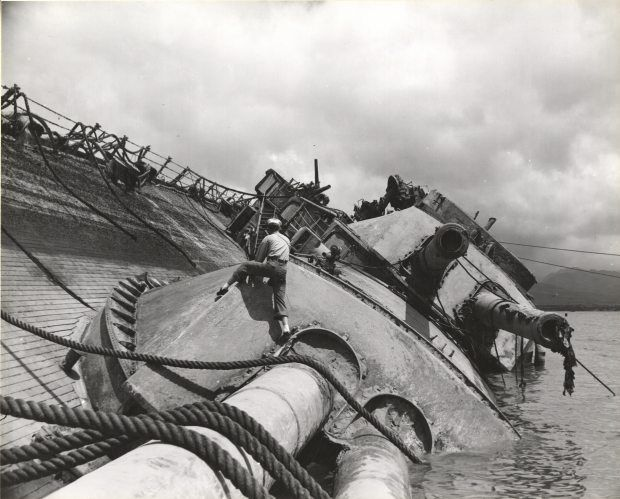 After 74 years, bones from Pearl Harbor tomb ship may be identified | Alaska Dispatch News