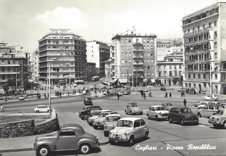 CAGLIARI - Piazza Repubblica (anni '50-'60)