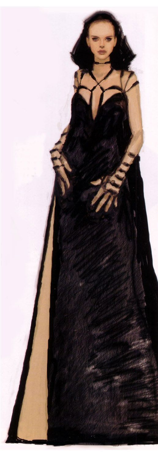 Star Wars - Senator Padme Naberrie Amidala - Revenge of the Sith - concept art