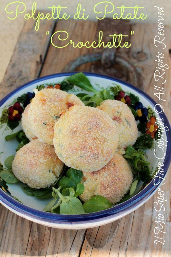 Polpette di patate al forno |Crocchette ripiene