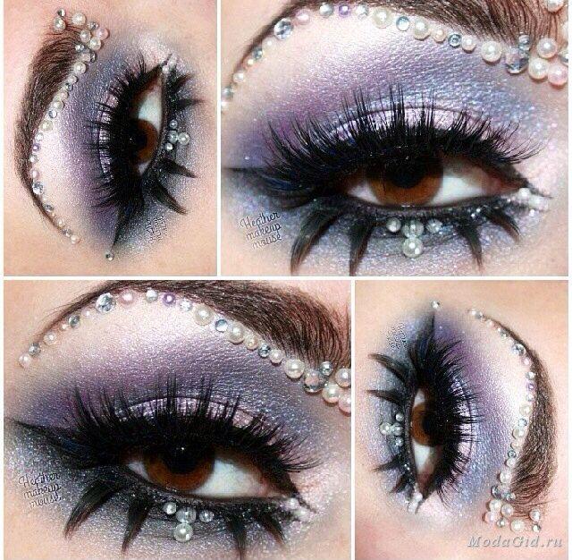 Макияж: Новогодний макияж 2014 (фото и видео)