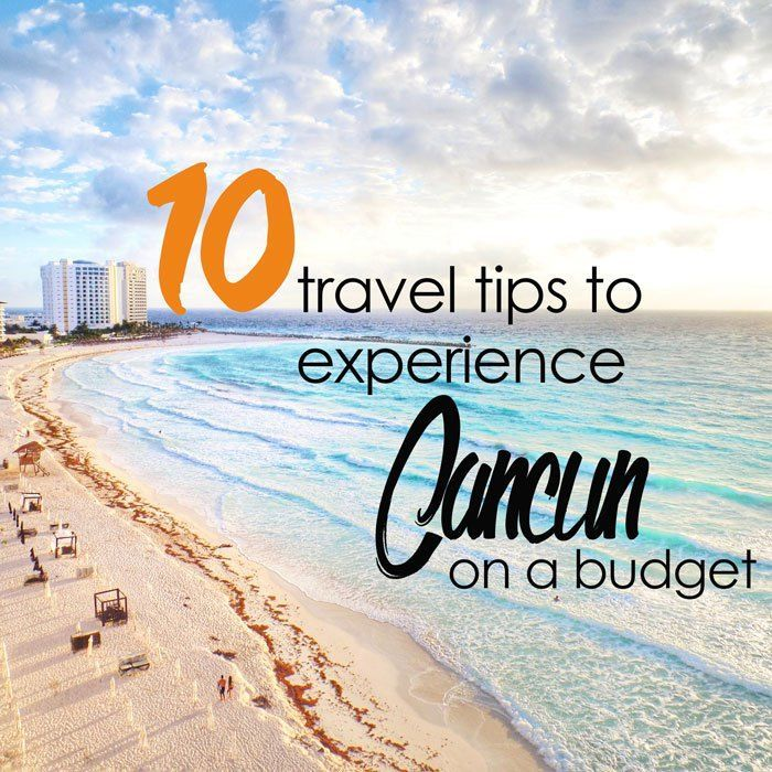 Cancun is the hottest beach destination in Mexico, but it can't be pricey to stay there. Read my 10 travel tips to experience Cancun on a budget!