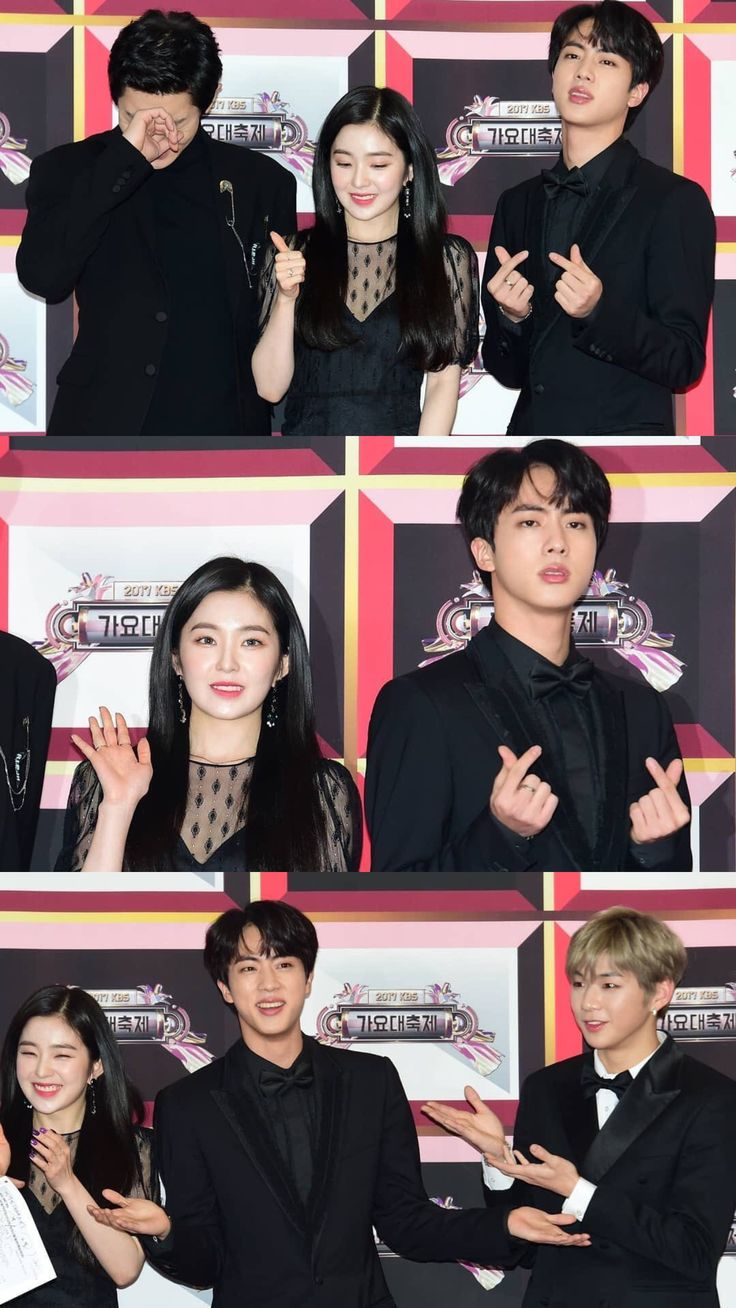 [❤️] 171230 HIGH CUT Magazine posted photos of Jin with other MCs on 2017 KBS Song Festival Red Carpet ©️ (instagram.com/p/BdSsTf9DaYS/) ~♡
