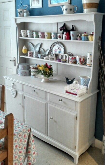 Originally A Mahogany Welsh Dresser Bought For 850 From Ebay Sanded And Painted