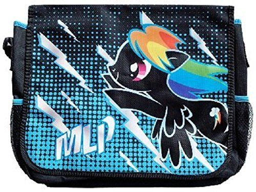 My Little Pony Rainbow Dash Messenger Bag @ niftywarehouse.com #NiftyWarehouse #MyLittlePony #Cartoon #Ponies #MyLittlePonies