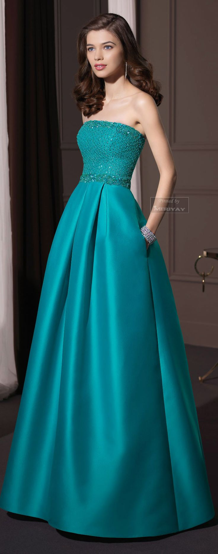 1121 best Evening Gowns images on Pinterest   Casamento, Cute ...