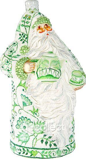 Connaught Santa (Chinoiserie, Green) Patricia Breen Designs