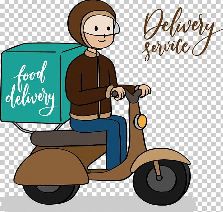 Motorcycle Delivery Png Artworks Cars Courier Delivery