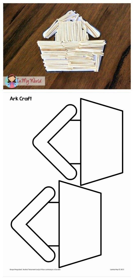 115 best sunday school noah images on pinterest free for Noah s ark preschool craft