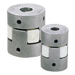 Accouplement élastomère à griffes Serrage par vis HC // Elastomer dog couplings clamping with grub screw // REF 23023