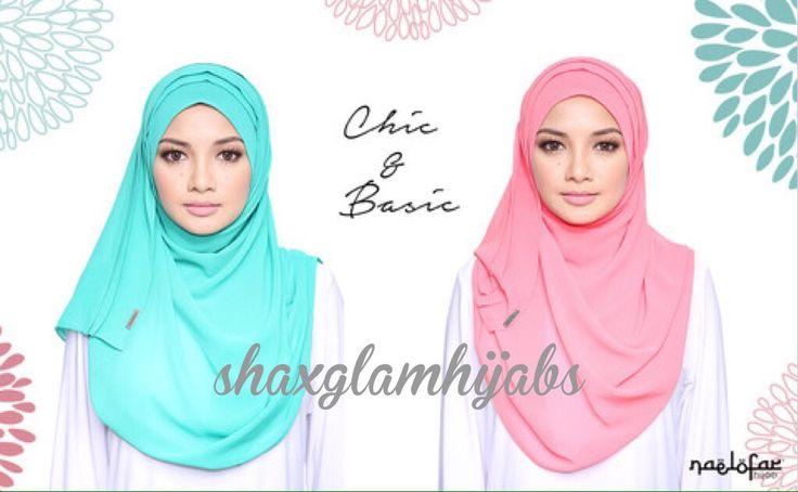 Naelofar Hijab Chic Basic Instant Hijab Email Shaxglamhijabs Gmail Com To Order Instant Hijab Hijab Chic Hijab Tutorial