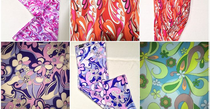 Koleksi berbagai warna dan corak selendang shawl dan bawal.