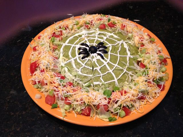 The Rennebergs: Spooky Halloween Taco Dip