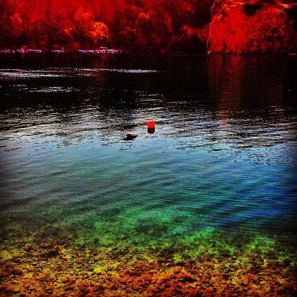 """""""Rainbow Lake"""". Agios Nikolaos, Crete, Greece"""