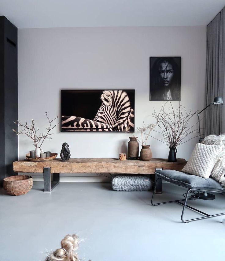 TV-Möbel von alten Schläfern mit TGE-Rahmen von …