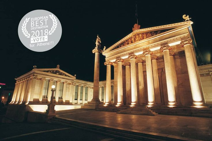 Visit Greece | Hey people, it's time to vote for Athens as Europe's Best Destination for 2018! Thank you for your support.  #VisitGreece #EBD2018 #Greece