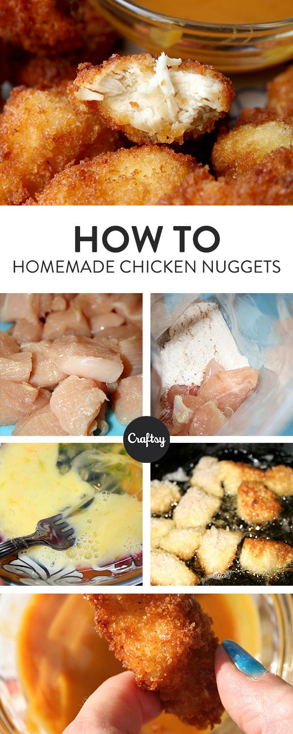 Make Chicken Nuggets For You Family Instead Of Buying Them At The Store  With This Easy