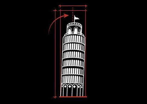 Pisa Kulesi: Sağlam temeller önemlidir. Yoksa Pisa Kulesi gibi yer çekimine yenik düşülebilir.