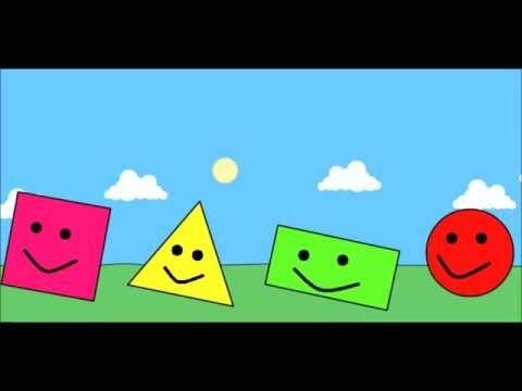 ÇOCUKLAR İÇİN GEOMETRİK ŞEKİLLER (ÖĞRETİCİ HİKAYE) - YouTube