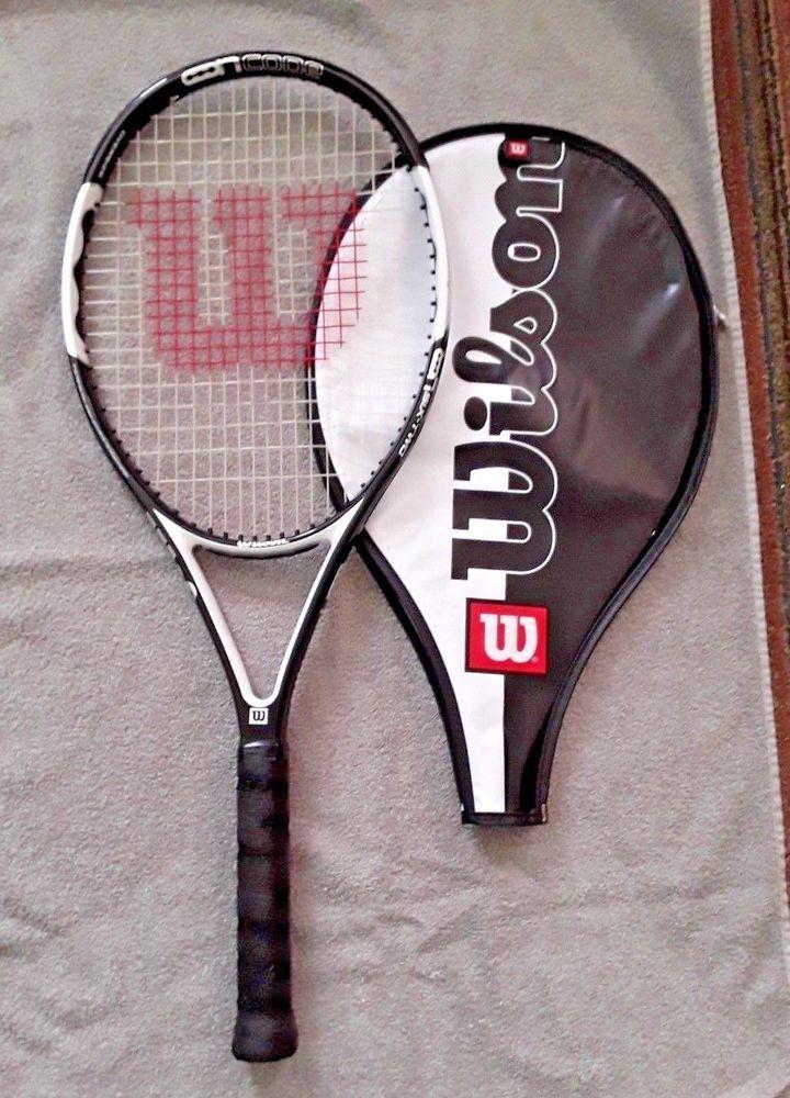 Wilson Ncode Six Two Oversize Tennis Racquet 4 1 4 L2 2008 Model Wilson Wilsontennis Wilsonncode Tennis Racquet Racquets Tennis