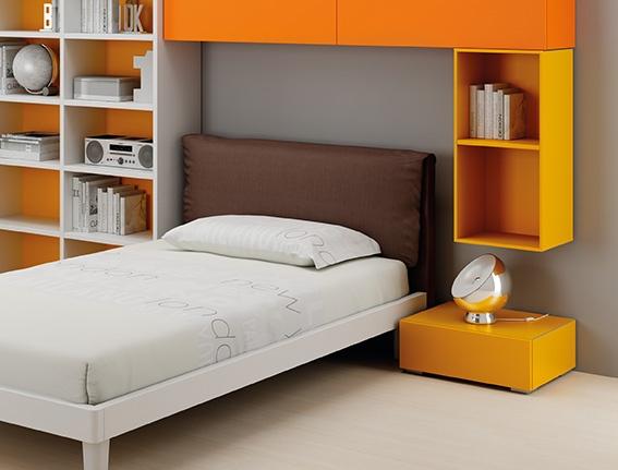 Arredamento cameretta moretti compact catalogo start solutions 2013 lh28 letto comodino - Letto moretti compact ...