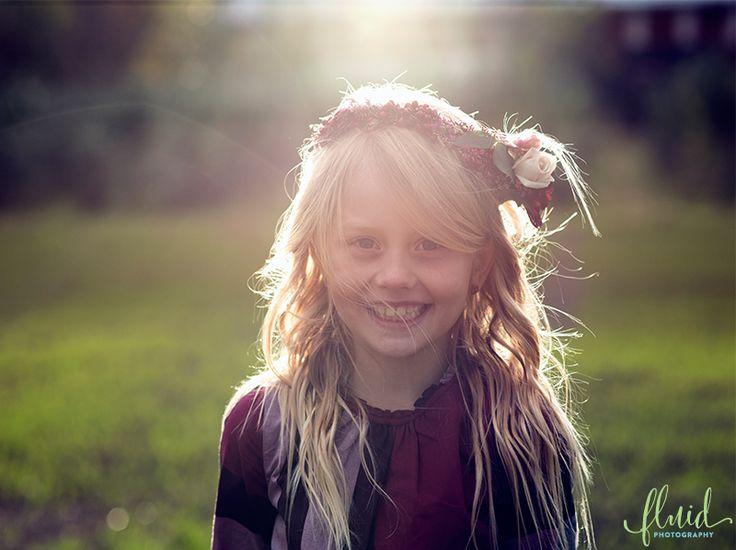 Girl autumn photoshoot